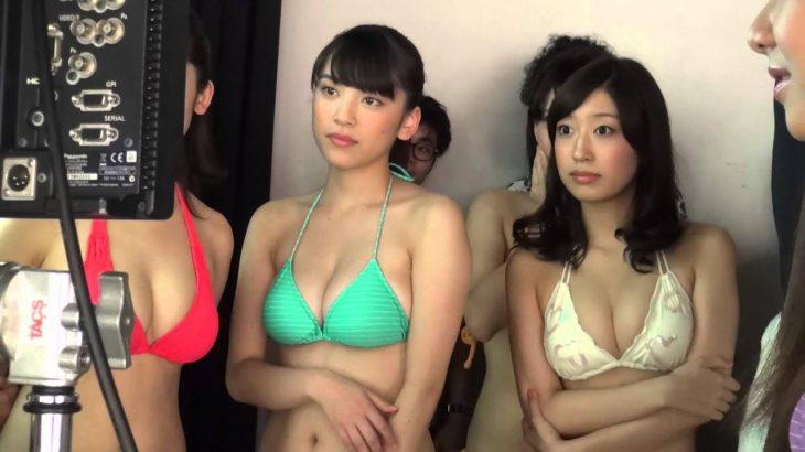 ヤンマガで表紙を飾る都丸紗也華が出演! 250万回再生された『ぷるるん』動画のメイキングムービー!!
