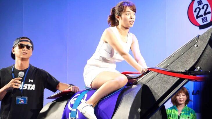 新橋こいち祭り2017 ラピスタ新橋 美脚グラドル 菜乃花