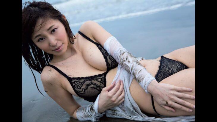 塩地美澄 黒で魅せる妖艶さ漂う色香 Shiochi Misumi The fascination that charm in Blackness of drifting