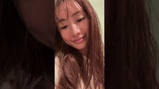 【インスタライブ】 2021 08 09 松本まりか さん ナイトルーティン  Instagram Live  marika matsumoto